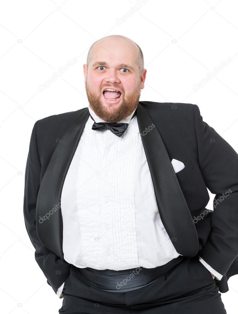 фото толстый мужик в хорошем костюме меня так