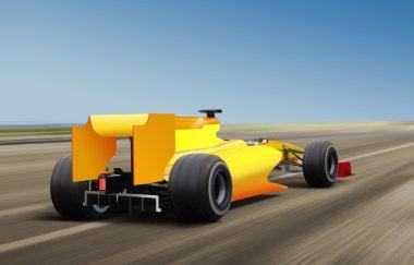 F1 on speed track