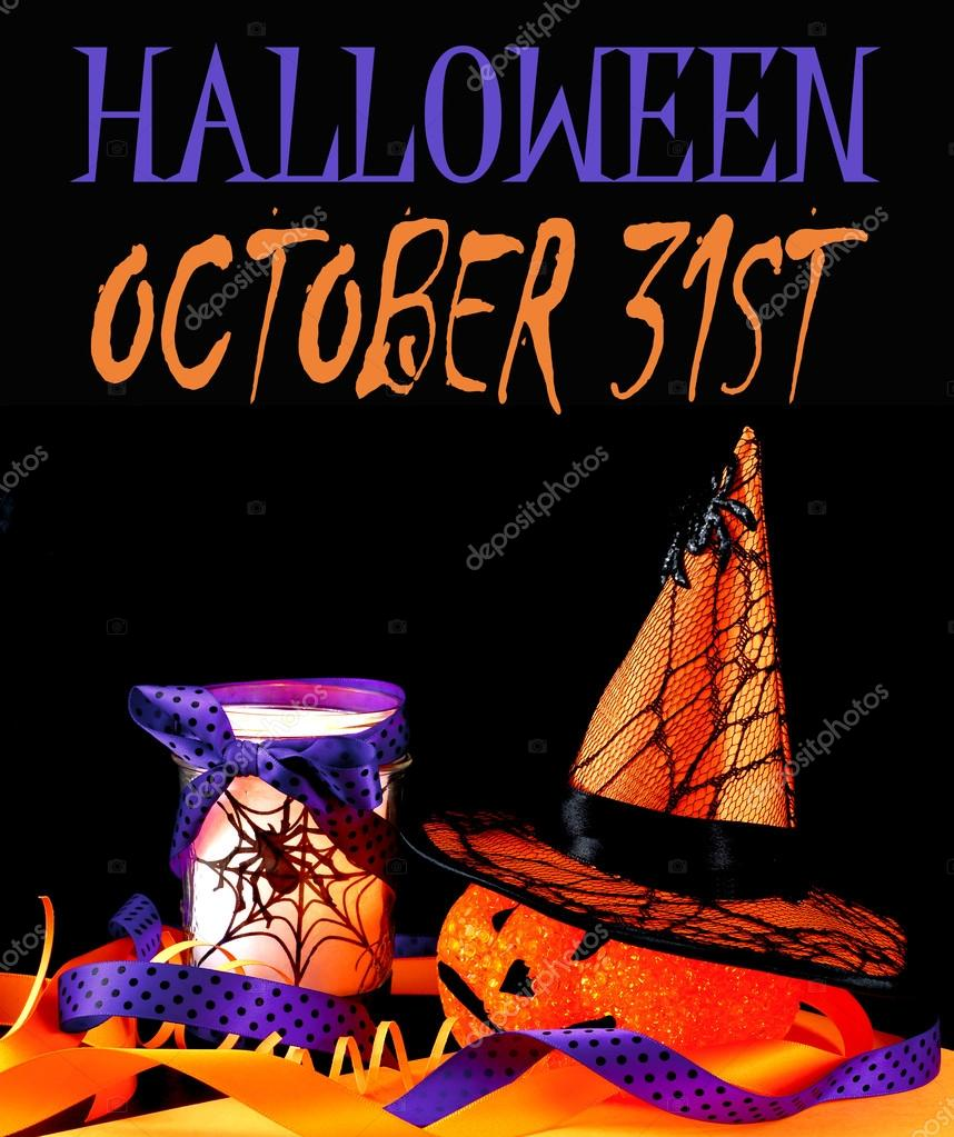 Halloween Decorations For October Stock Photo C Riffmax 85620020