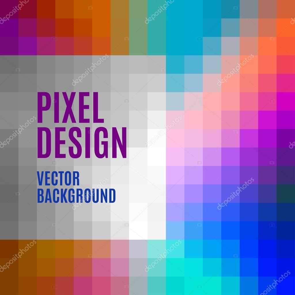Plantilla pixel — Archivo Imágenes Vectoriales © vlastas #71347483