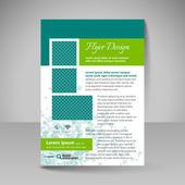 Fotografie Site layout for design - flyer