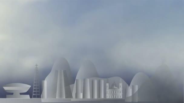 mraky v rio de Janeiru