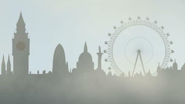 mlha v městě Londýn
