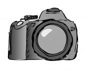 vektorové fotoaparát
