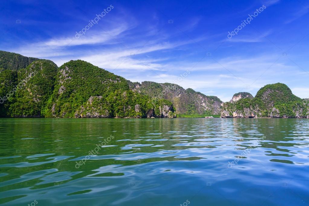 Scenery of Phang Nga National Park