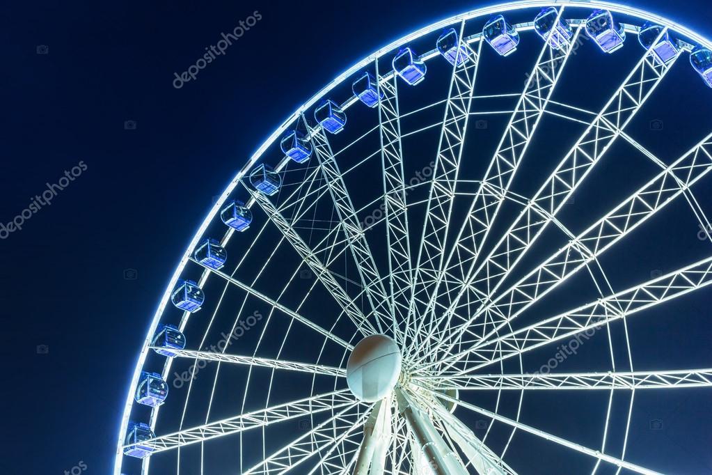 Ferris wheel in the city centre of Gdansk