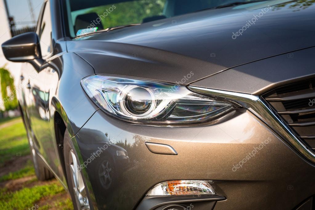 Modern car light detail