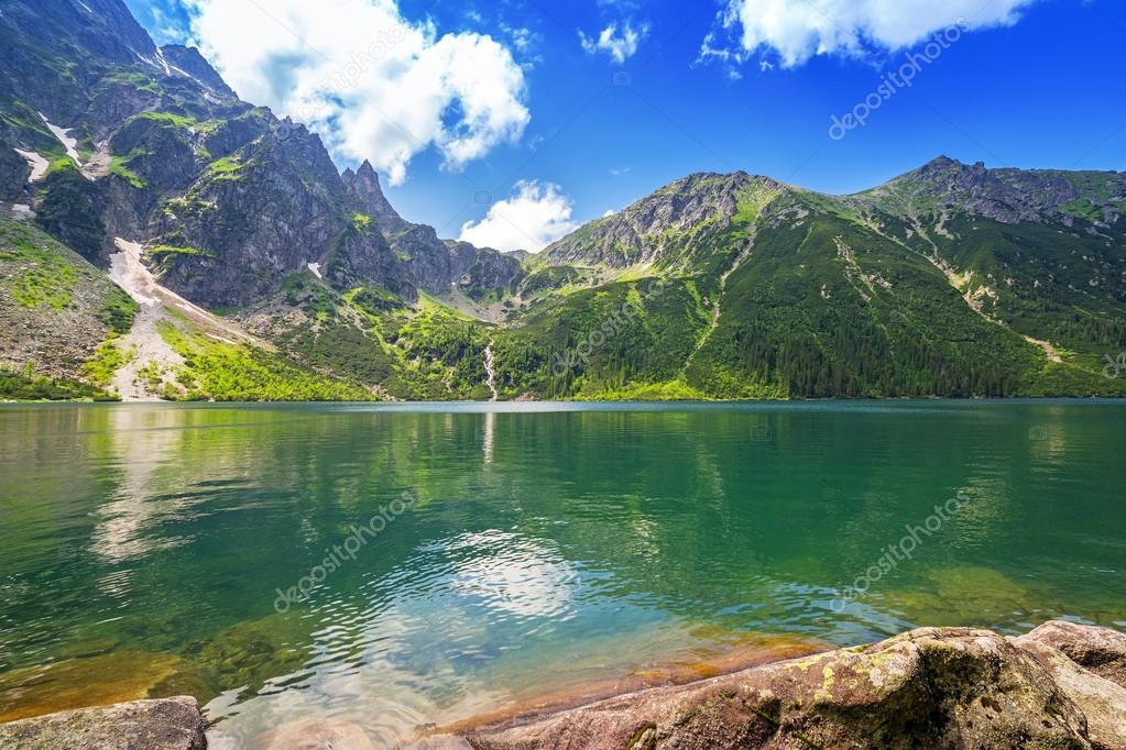 Фотообои Красивые горы Татры в Польше