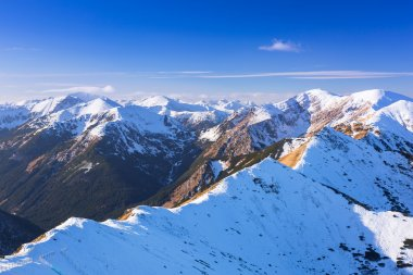 Tatra mountains in snowy winter time, Poland