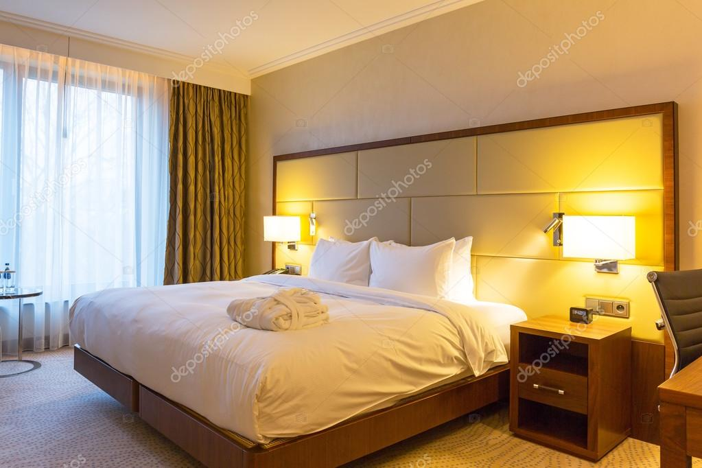 Luxus Schlafzimmer Von Doubletree By Hilton Hotel U2014 Stockfoto