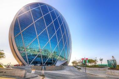 Aldar headquarters building in Abu Dhabi