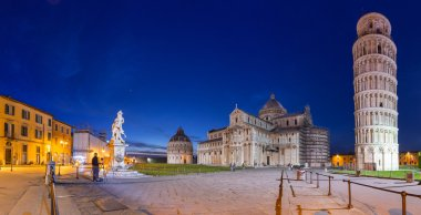 Piazza dei Miracoli with Leaning Tower of Pisa