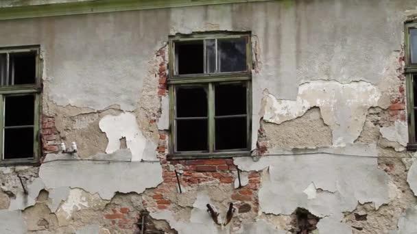 egy régi ház romjai