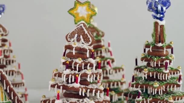 Vánoční perníkové chaloupce a perník strom