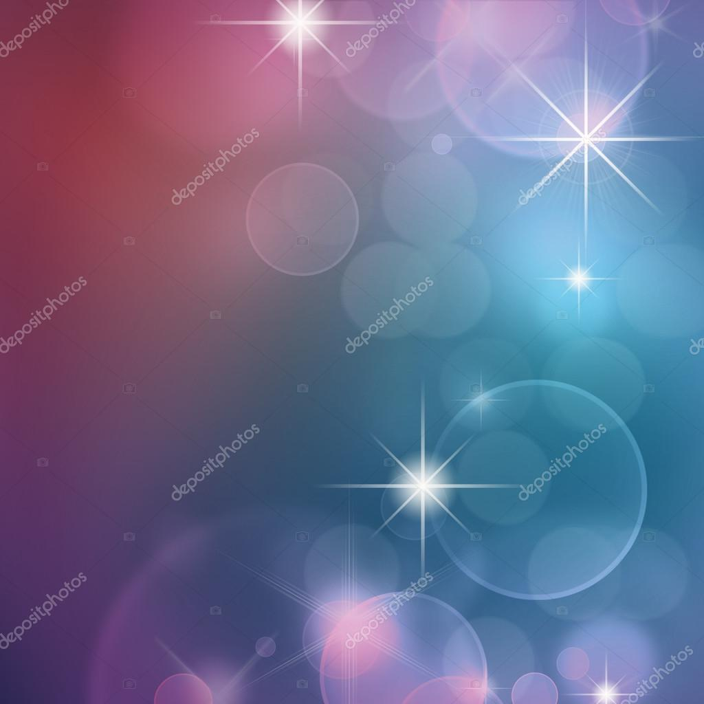 blue bokeh abstract light background