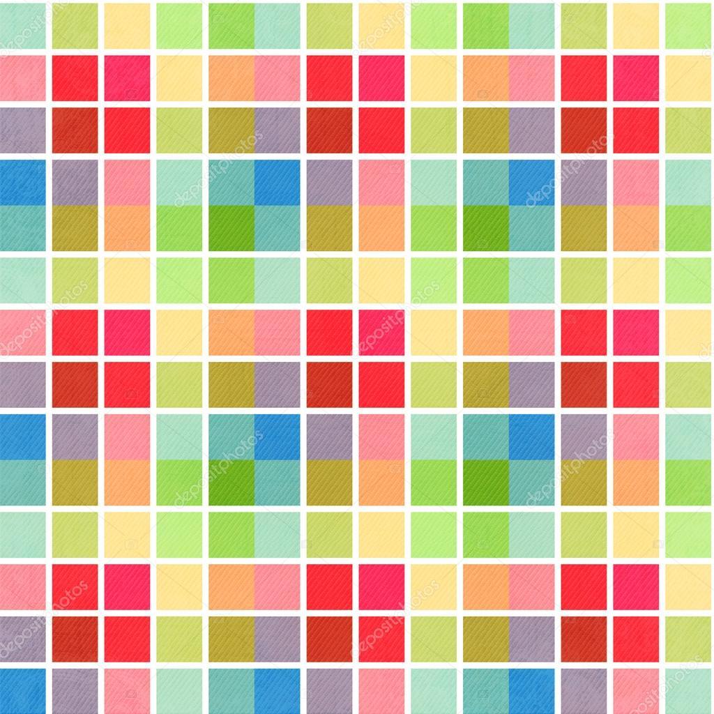 Fondo cuadros con rayas de colores rosas azul y verdes - Cuadros de colores ...