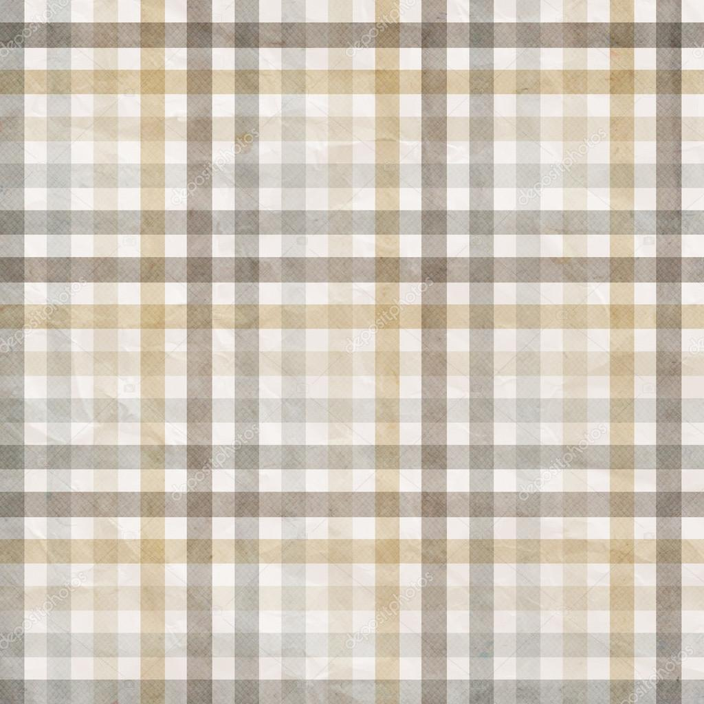 fondo cuadros textil en beige gris blanco u foto de oapril