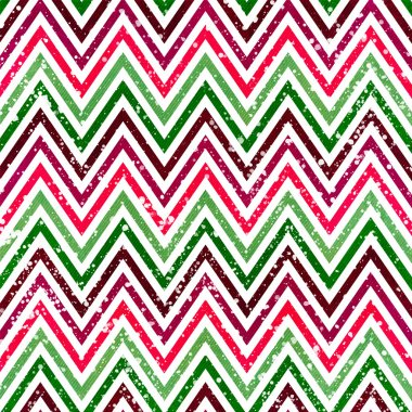Chevron pattern with Zig zag stripes stock vector