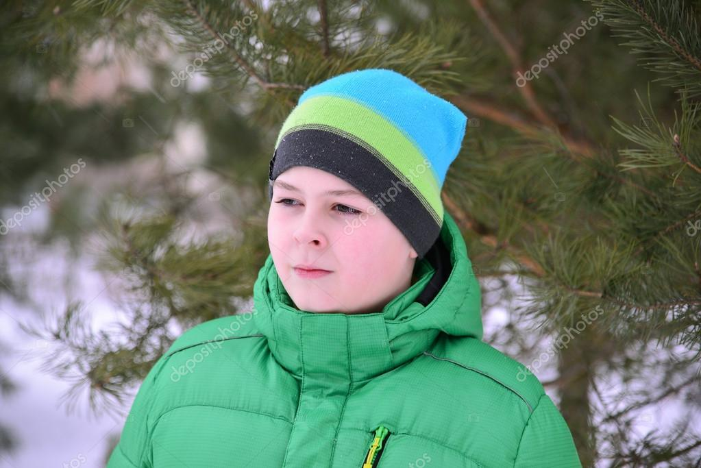 e645791a7a24 Adolescent Verte Pins À En La Forêt Garçon De Veste D hiver vqHSranRv