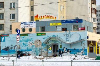 Zelenograd, Russia - February 20, 2016. Shopping center Madagascar