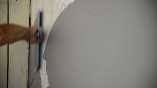 spachteln wand great spachtel mit paste wand schaden zu reparieren with spachteln wand top mit. Black Bedroom Furniture Sets. Home Design Ideas