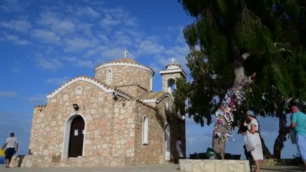 Protaras, Kypr - 6. října. 2019. Kostel sv. Mikuláše