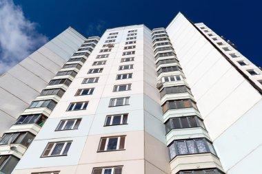 Modern multistory residential buildings