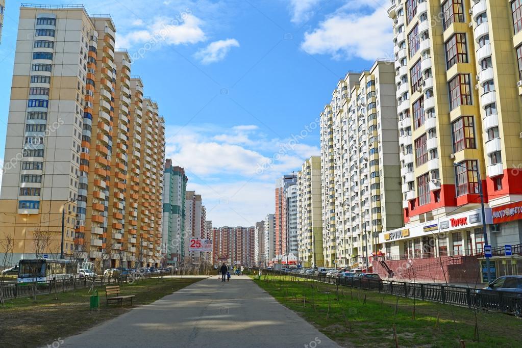 Krasnogorsk russia aprile 22 2015 krasnogorsk citt for Piani di fattoria di 2000 piedi quadrati