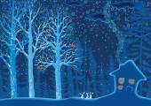Modrá Les