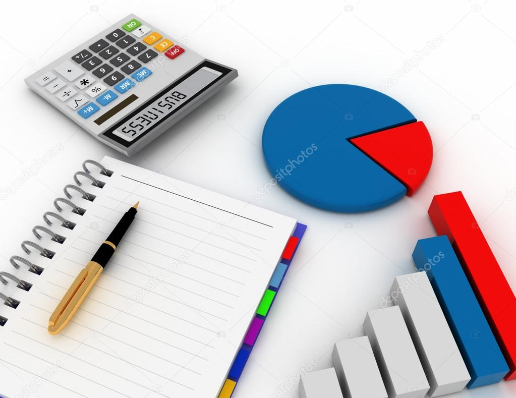 Blank spiral notepad with pen office calculator and bar graph blank spiral notepad with pen office calculator and bar graph business finance photo by andreync ccuart Gallery