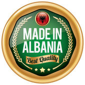made in albania icon