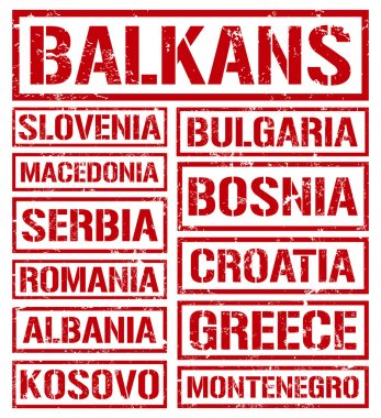 Balkan countries