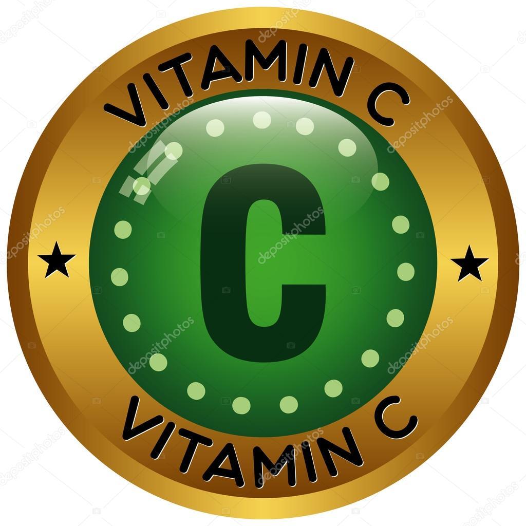 Vitamin C Symbol Stockvektor Mediterranean 77775036