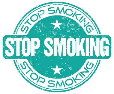 stop smoking stamp