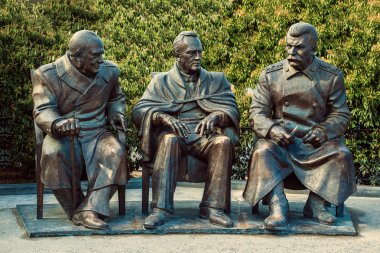 Monument to the Yalta Conference.