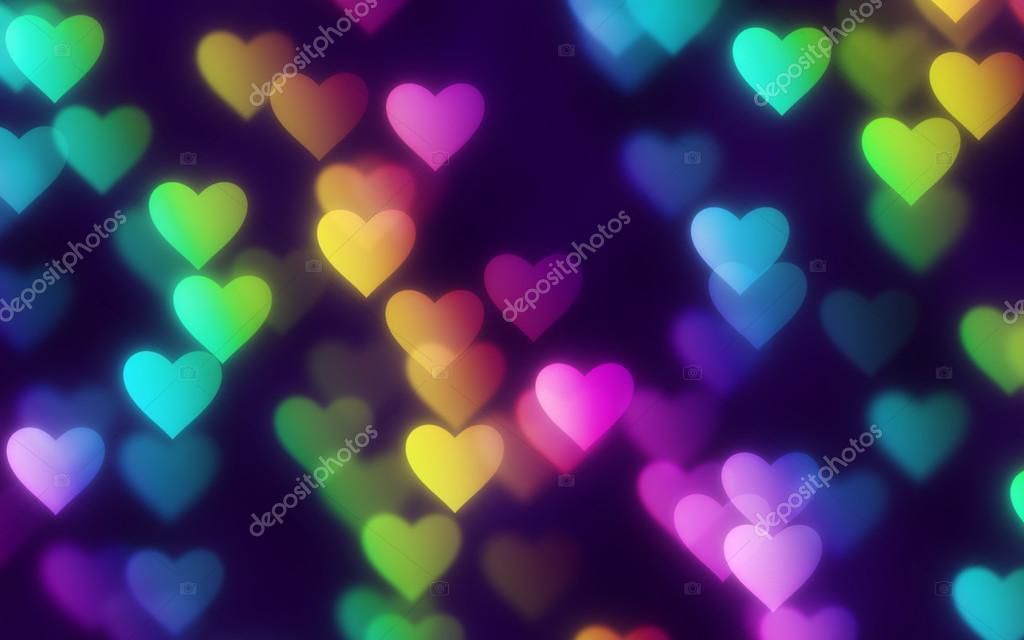 Rainbow Hearts Stock Photo C Hospitalera 74621345