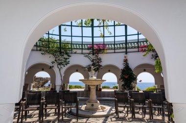 Entrance to Kallithea rotunda