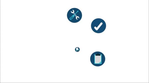 zákaznické podpory ikony designu