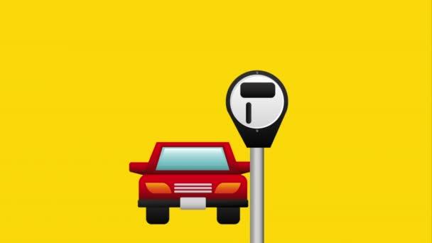 Parkplatz Icondesign