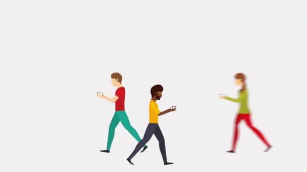 Kommunikationsdesign für Smartphones, Videoanimation
