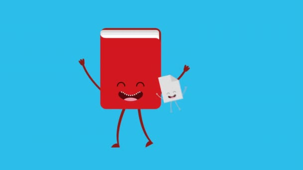 Animated book design, Video Animation