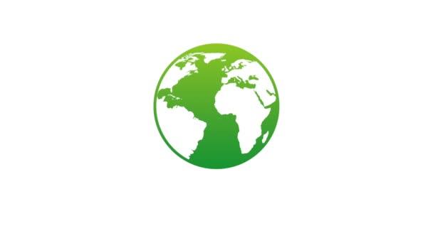Ecology icon design, Video Animation