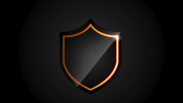 Pajzs ikon tervezés, videóinak animáció