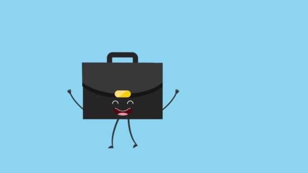 Animované office nástroje design, Video animace