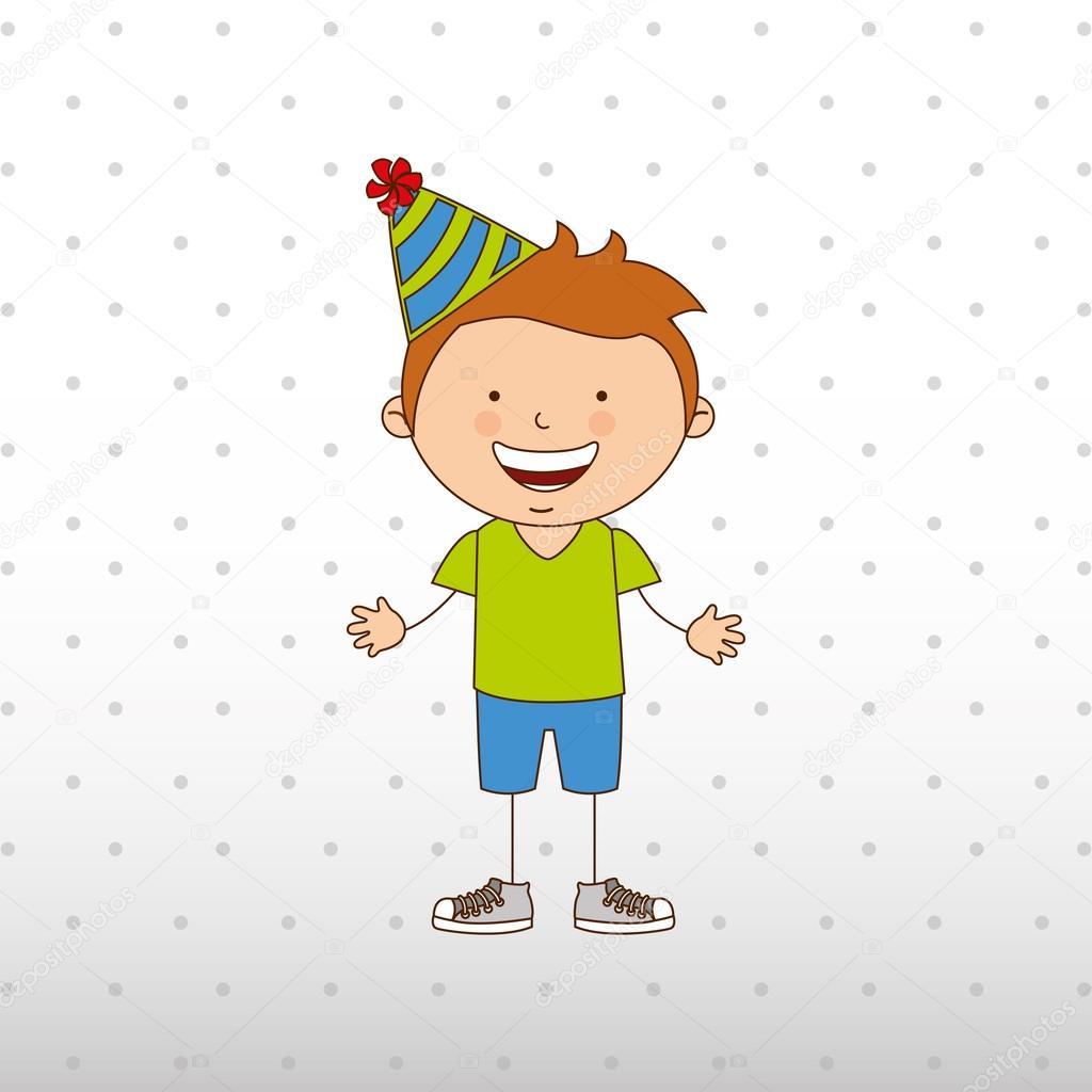 Progettazione di festa di compleanno vettoriali stock for Progettazione di idee di scantinato