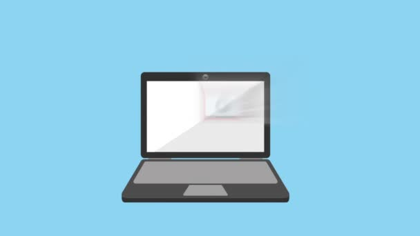 Stylized interface design process blueprint animation stock video media player interface design malvernweather Gallery