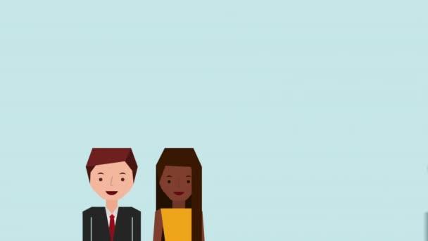 ssocial media  animation