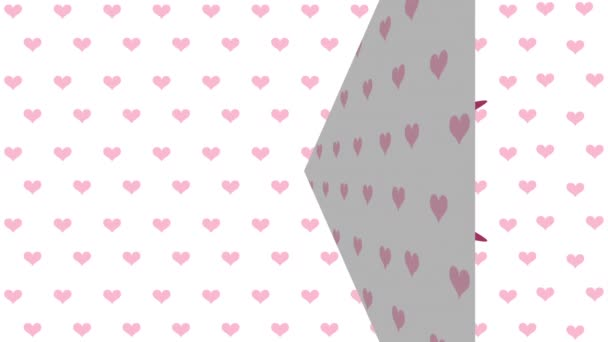 szerelem kártya, video animáció