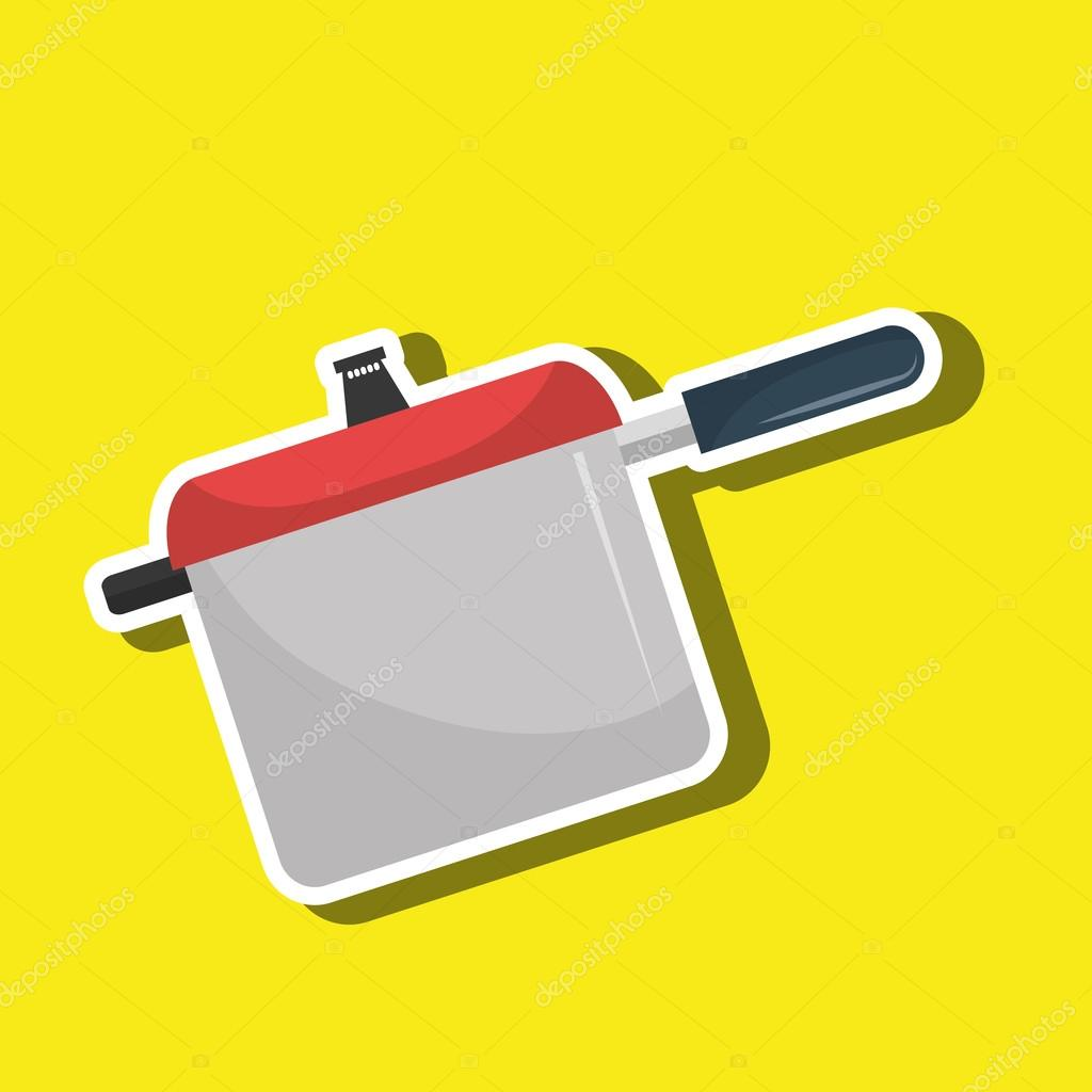 utensilios de cocina de diseño — Archivo Imágenes Vectoriales ...