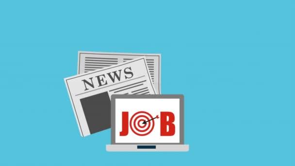 Recruitment process , video animation